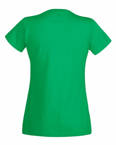 T-shirt à manches courtes Fruit Of The Loom pour femme Kelly Green
