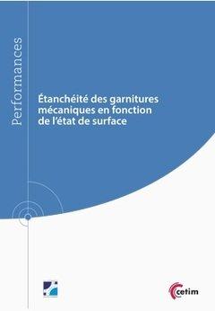 Etancheite des Garnitures Mecaniques en Fonction de l'Etat de Surface (Ref : 9q257)