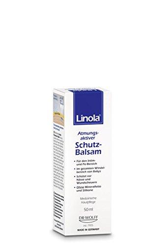 Linola Schutz-Balsam, 1 x 50 ml - Effektiver Schutz vor Scheuern und Wundwerden -