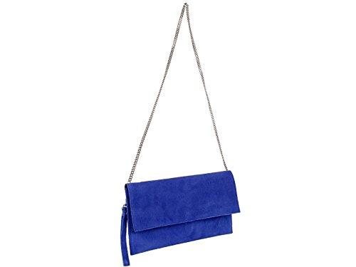 scarlet bijoux, Poschette giorno donna one size Blu (blu)