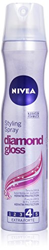Nivea - Styling Spray Diamond Gloss, Tenuta Forte, 250 (Gloss Spray)