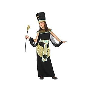 Atosa-56836 Disfraz Egipcia, Color Negro, 10 a 12 años (56836