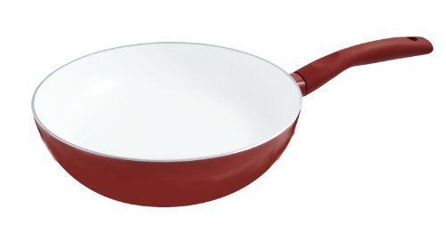 cookspace-r-red-induction-chinese-wok-28cm-diameter-with-white-smooth-ceramic-non-stick-coating-100-