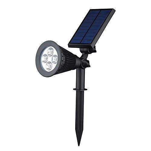 YUCH Lampe De Jardin Solaire Lampe D'Extérieur Étanche