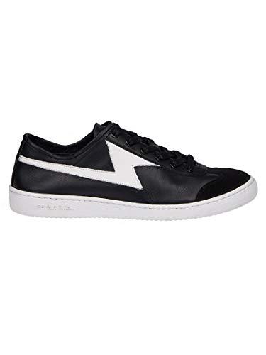 Paul Smith Herren M2szig01aset79 Schwarz Leder Sneakers