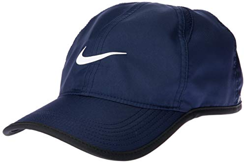 Nike Herren Feather Lite 2.0 Einstellbar mütze Blau( Midnight Navy/Black/White )