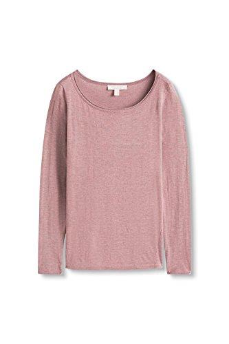 ESPRIT Damen Pullover mit U-Boot-Ausschnitt/996ee1i903 Dark Old Pink 5