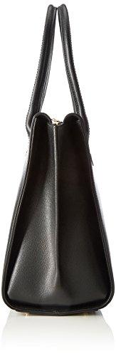 Furla Damen Linda L Carryall Shopper, 36x25x16 cm Schwarz (Onyx)