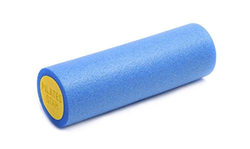Yogistar Pilatesrolle Hartschaum 45cm blau/Gelb