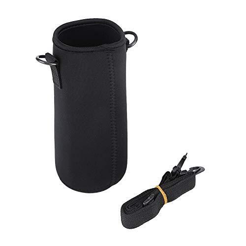 Yosoo Wasserflaschen-Hülle, tragbar, Neopren, mit Schultergurt, für Outdoor, Camping, Wandern, Angeln -