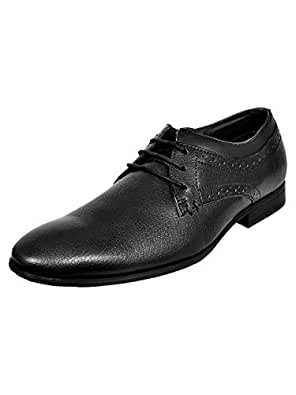 Allen Cooper ACFS-8029 Genuine Leather Durable Comfortable Formal Shoes for Mens