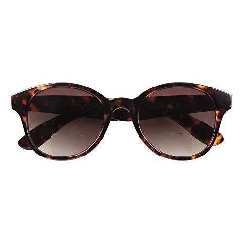 Babsee Sonnenlesebrille Kate | Lesebrille getönt & mit Sonnenschutz | Ideale Lesebrillen Sonnenbrille mit Sehstärke Damen, Lesesonnenbrille, Brillenträger Sonnenbrille mit Lesehilfe bifokal