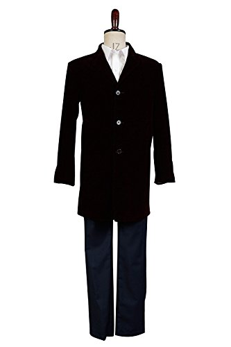 Doctor Who 12th Doctor Peter Capaldi Cosplay Kostüm Whole Set Herren L
