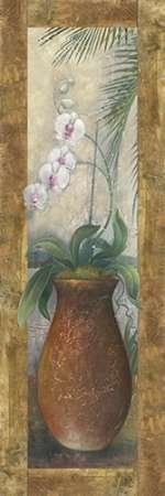 Feelingathome-art-PRINT-ON-CANVAS-100%cotton-Orchids-in-Paradise-I-cm121x40-stretched-on-wooden-bars-