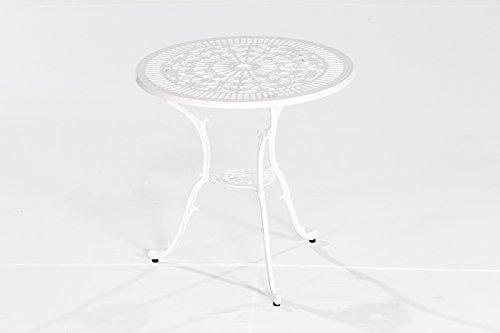 MERXX Gartentisch Perugia, Ø 70 cm, Farbe zur Wahl weiß