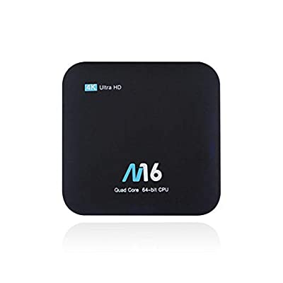 Youngsown Android 7.1 Smart TV BOX Ethernet WIFI play 4K RAM 2G ROM 16G TV Box Multimedia Amlogic S905X 64bits Quad-Core Cortex-A53@1.5GHz HDMI 2.0 WIFI USB2.0 Built-in 3D Acceleration