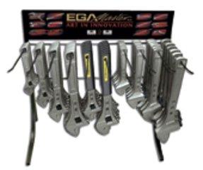 EGA Master 55583Tasse mit Untertasse–Anzeige der 36Adjustables Schlüssel Combi phosphatiert (Schraubenschlüssel Tasse)