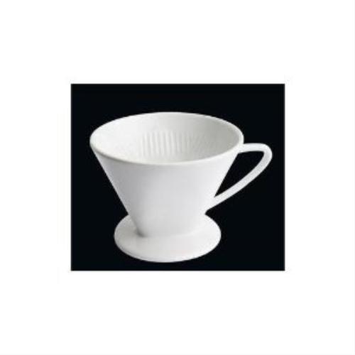Cilio 104943 - Kaffeefilter Weiß, Größe 4 Ø 14 cm