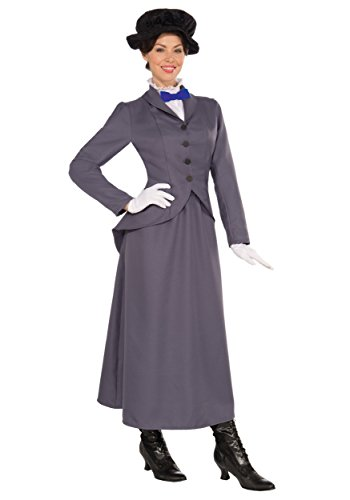 Costume da Mary Poppins in stile inglese vittoriano Disney, da donna