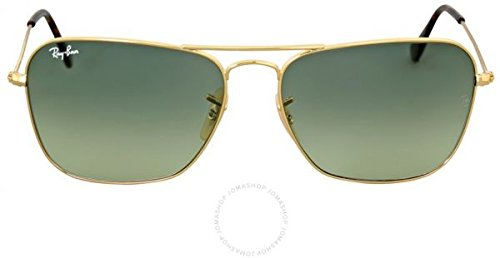 Ray-Ban Caravan Gold-coloured Sonnenbrille RB3136 181/71