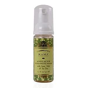Kama Ayurveda Anti Acne Cleansing Foam, 50ml