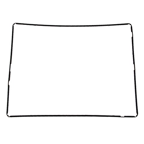 MagiDeal Rahmen Gehäuse Bildschirm Frame Cover Display Bezel für iPad 2 Schwarz Bezel Frame Cover
