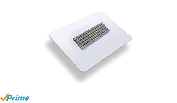 4x5 mm SUPER MAGNETE MAGNET WAND 10x POWER NEODYM STAB MAGNET N45 PINNWAND
