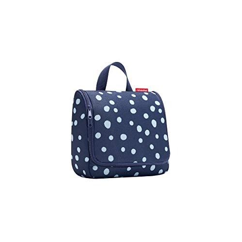 reisenthel toiletbag spots navy Maße: 23 x 20 x 10 cm / Maße: 23 x 55 x 8,5 cm expanded / Volumen: 3 l