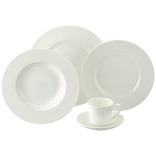 Rosenthal Jade 61040 800001 18743 Table Service Set Fine Bone China 30  Pieces White