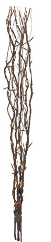 LED- Weidendeko Willow, 60 warm white LED, braun