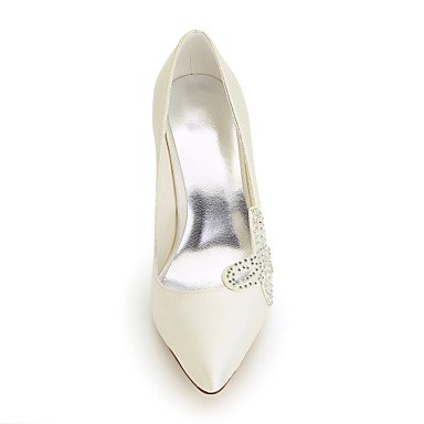 Moda Donna Sandali SEXY DONNA Autunno / tacchi / Punta nozze di seta / Party & sera abito / Stiletto Heel beige