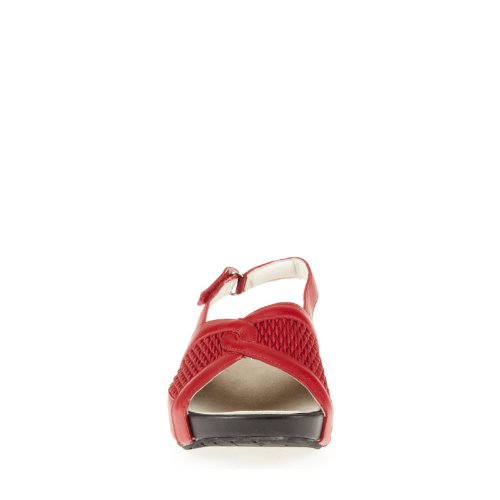 CL By Laundry Madeline Femmes étroit Synthétique Sandale Chili Red