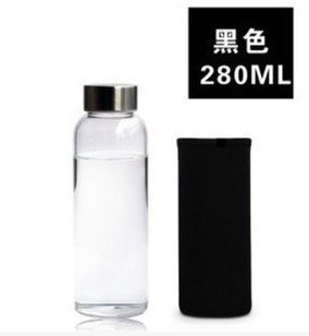 MEICHEN-Caffè di viaggioVetro trasparente ciotola con il coperchio tazze di tenuta stagna di creative di grande capacità bottiglie acqua tazze ,258