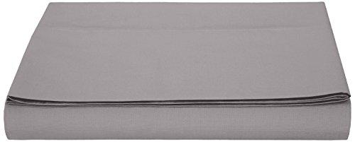 AmazonBasics - Hoja de Microfibra, 280 x 320cm - Gris Oscuro