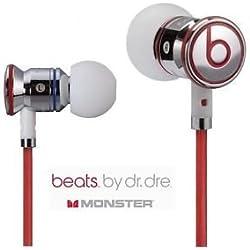 [Cable] Auriculares de diadema de cromo iBeats By Dr Dre