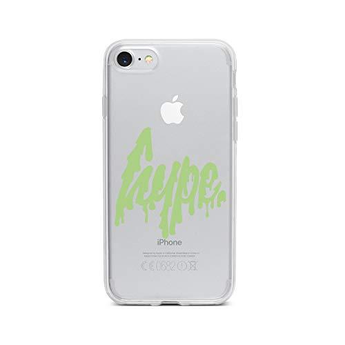 (licaso Apple iPhone 8 Handyhülle Smartphone Apple Case aus TPU mit Freaky Hype Print Motiv Slim Design Transparent Cover Schutz Hülle Protector Soft Aufdruck Lustig Funny Druck)