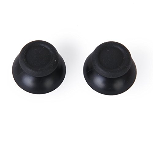 Imported Pair of Joystick Thumbstick Thumb Stick for Sony PlayStation 4 PS4 Controller - Black  available at amazon for Rs.130