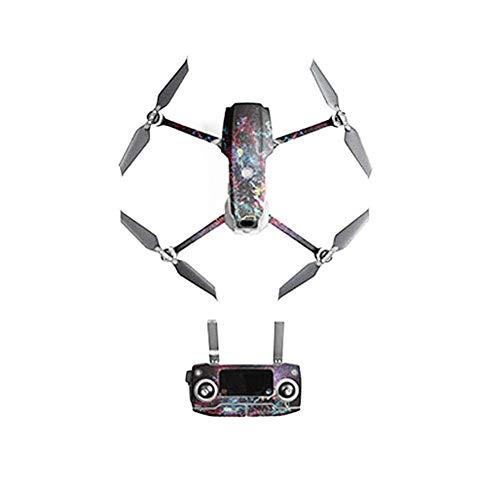 Luerme Tragbare Mini-Drohnenabziehbild-Einfügung Palm-Einführung Mini-Quadcopter Wasserfestes PVC-Dec-Kit