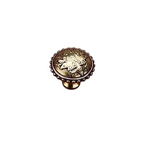 Manija de Cobre de un Solo Orificio, manija de la Puerta del Armario Armario Chino