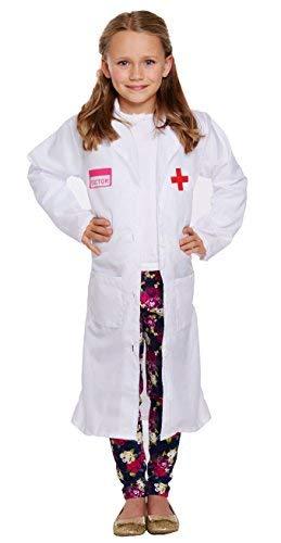 Henbrandt costume da dottoressa bambina taglia piccola 4 - 6 anni