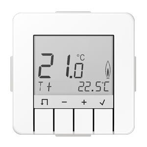 Jung serie-cd-Thermostat Standard serie-cd mit Display weiß alpin