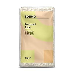 Amazon- Marke: Solimo  Basmati- Reis 4er-Pack (4x1kg)