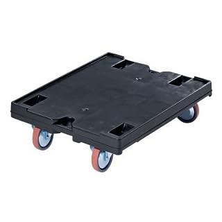 utz Transportroller - LxB 800 x 600, Tragfähigkeit 500 kg - Rad-Ø 125 mm - Euro-Stapelbehälter Zubehör