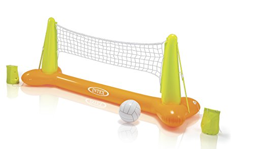 Intex Wasserspiel Pool Volleyball Game, mehrfarbig, 239 x 64 x 91 cm