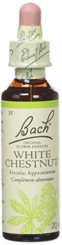 Fleurs de Bach Original - Marronnier d'Inde blanc (White Chestnut) - 20 ml