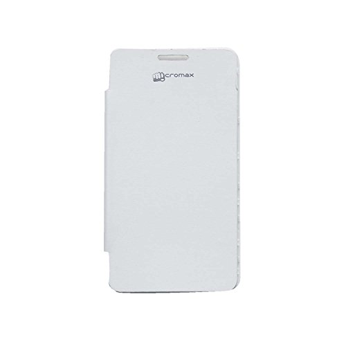 iCandy™ Flip Cover for Micromax Canvas Doodle 3 A102 - White  available at amazon for Rs.109