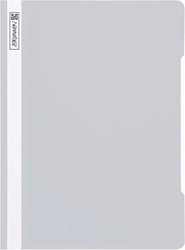 Brunnen Schnellhefter PP grau [Bürobedarf & Schreibwaren] [Spielzeug]