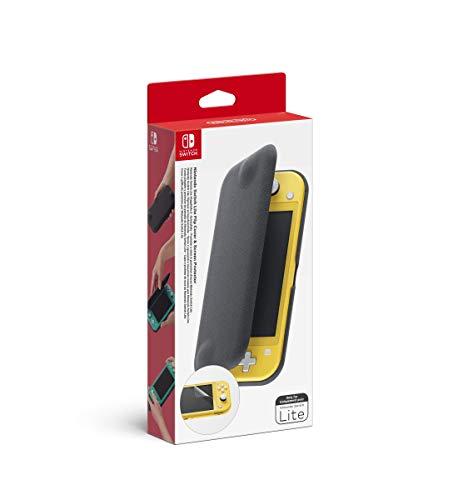 Pochette à Rabat/Protection d'Ecran pour Nintendo Switch Lite