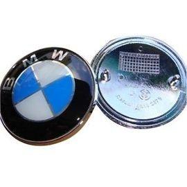 Logo emblem bmw blau Clip für 74mm Kofferraum oder Motorhaube ( Messen unbedingt den Durchmesser vor der Bestellung bitte): danke richtig die Größe vor Ihrer Bestellung zu überprüfen.