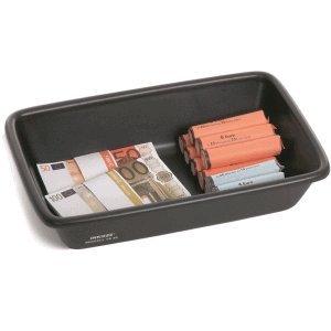 Inkiess Geldtransportschale TS 30 BxTxH 22,5x33,5x8cm schwarz
